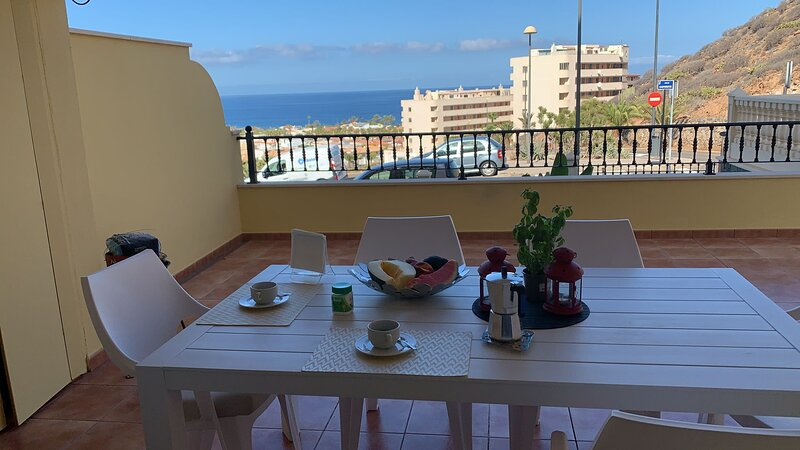 BIG TERRACE  SEA VIEW, holiday rental in Palm-Mar