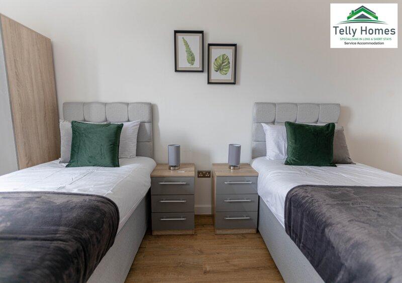 Telly Homes Limited - Birmingham City Centre -Marigold, location de vacances à Birmingham