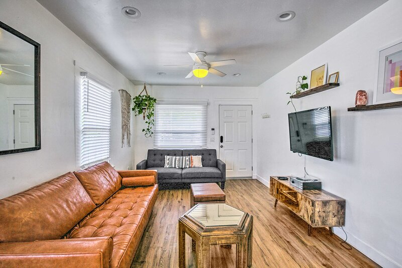 NEW! Boho San Diego Home: 4 Blocks to Logan Ave!, holiday rental in National City