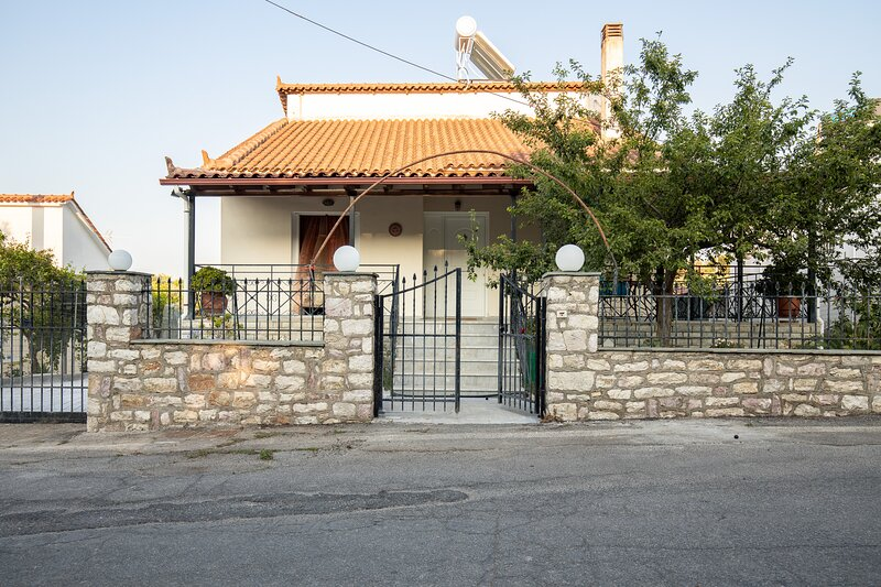 Villa Roussis / 11 person house, holiday rental in Aetos