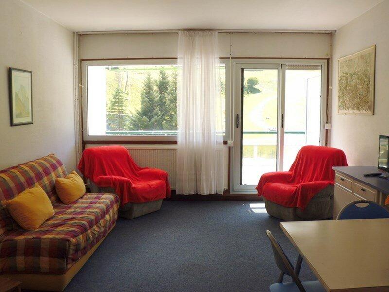 Studio cabine 4 personnes, pied de pistes, holiday rental in Arrens-Marsous