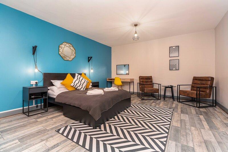 Pine Suite - Studio Apartment - Talbot Road, vacation rental in Bispham