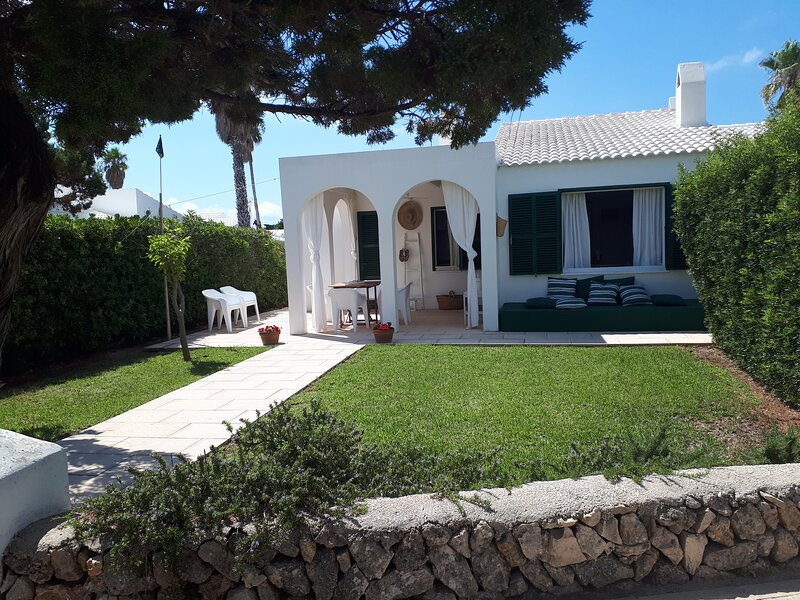 Casa Mo,perfectas vacaciones en Menorca, alquiler vacacional en Cap d'Artrutx