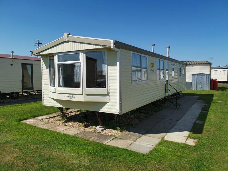 Caravan, 6/8 berth, Ingoldmells on Coastfields Holiday Village Site, aluguéis de temporada em Skegness