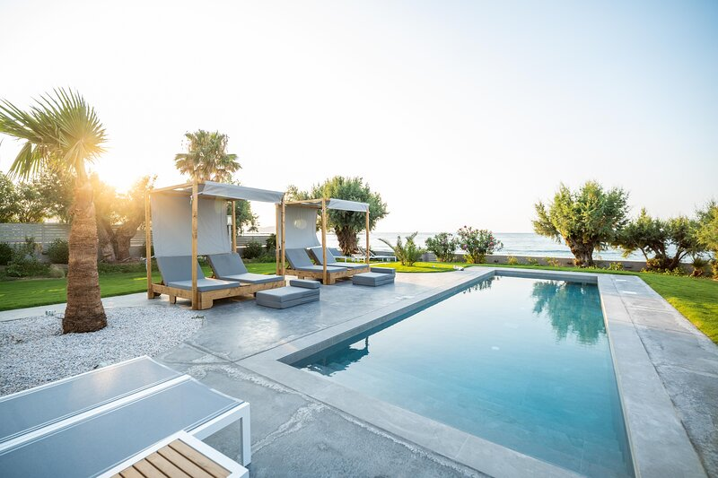 Isalos Seafront Villa I Sea fragrance, holiday rental in Kalamaki