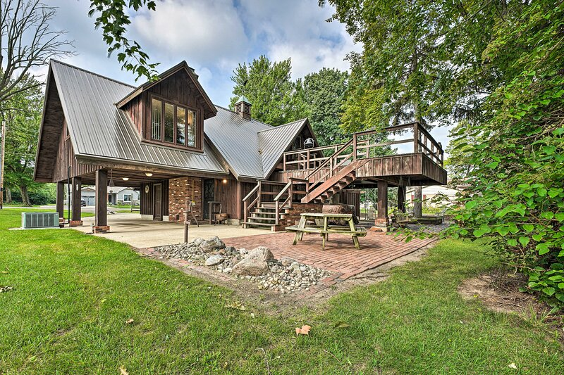 NEW! Gorgeous Bremen Home with Lake Access & Yard!, holiday rental in Bremen
