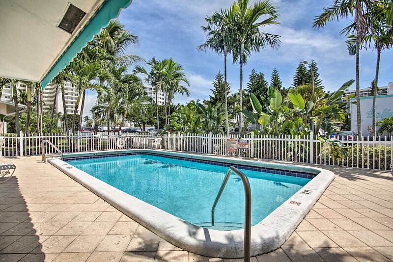 NEW! Sun-Soaked Retreat, 2 Blocks to Pompano Beach, holiday rental in Lighthouse Point