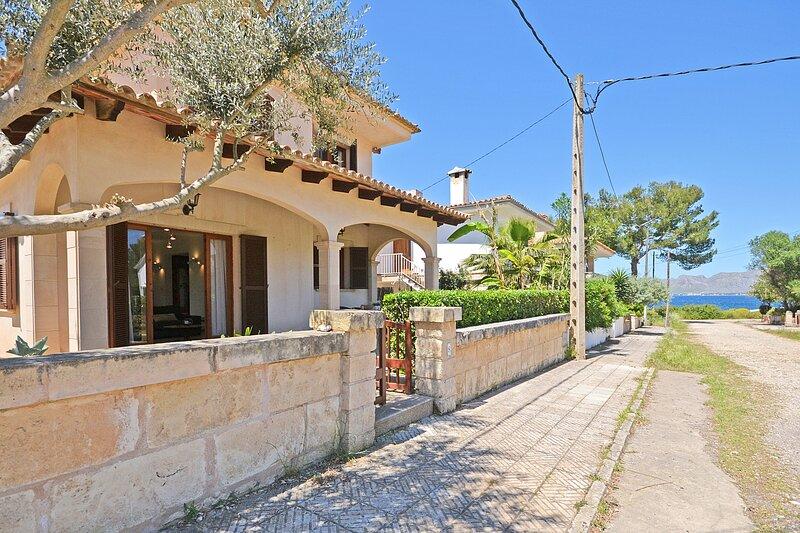 BOREAL - House close to the sea for 8 people in Alcúdia, casa vacanza a Mal Pas