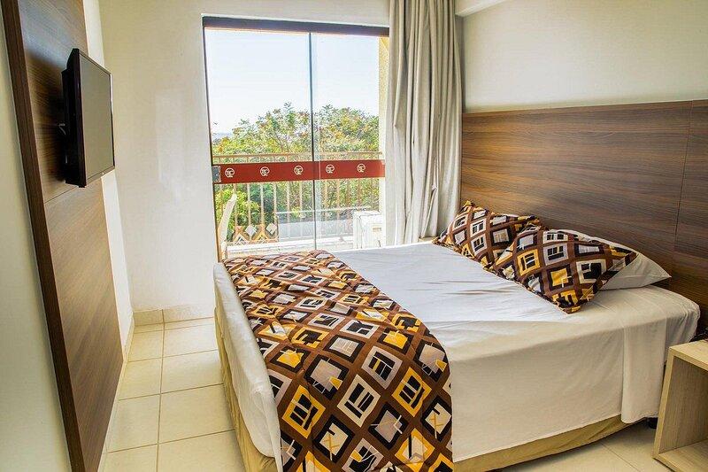 Apartamento suíte Barretos Country Parque Aquático feriado 15 Novembro, aluguéis de temporada em Barretos
