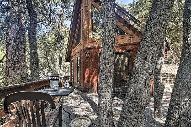 Updated 'Tree House' Pine Mtn Club Cabin by Trails, alquiler vacacional en Pine Mountain Club
