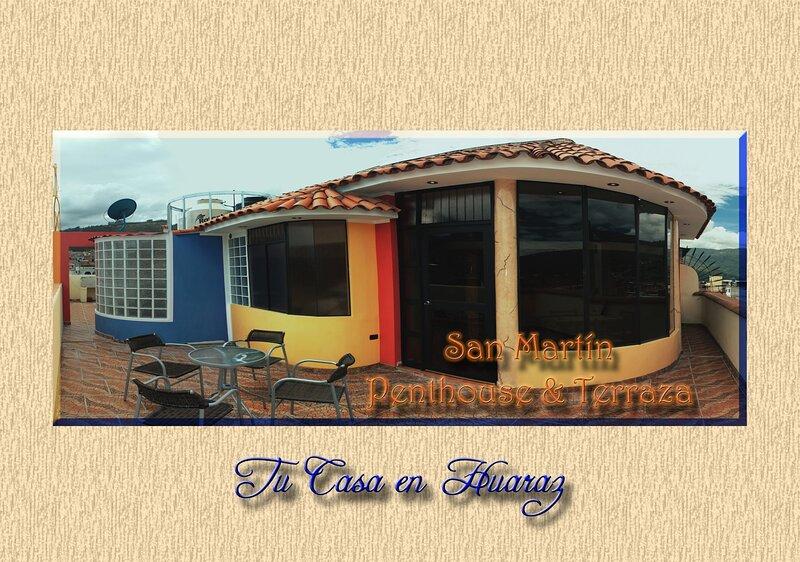 San Martín Penthouse & Terraza, casa vacanza a Ancash Region