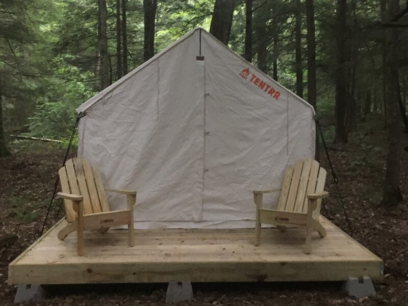 Tentrr Signature Site - Forest Fairy Tale By The Creek, holiday rental in St. Lawrence County