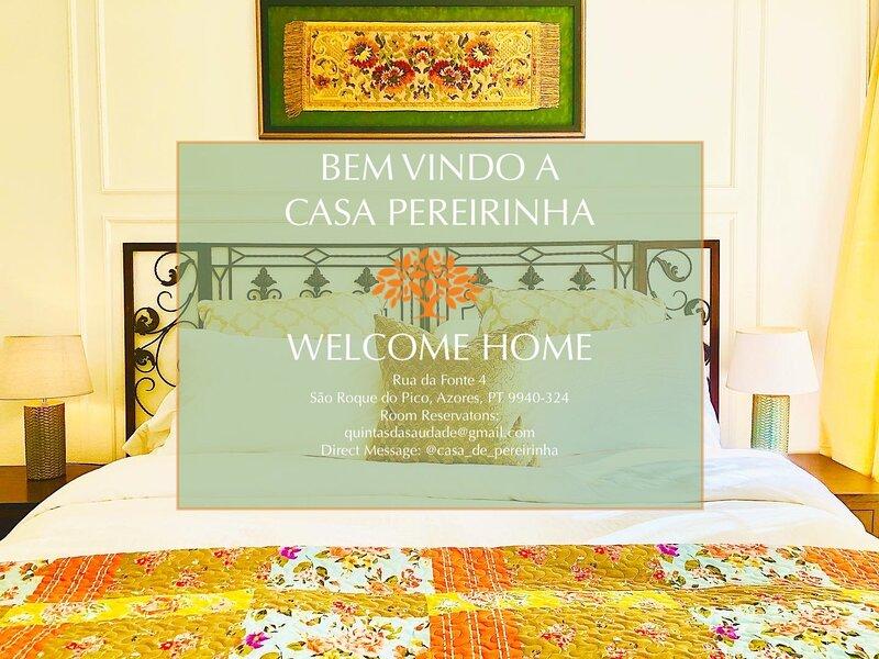 Casa Pereirinha - Pico Island, Azores / Breakfast Included, holiday rental in Sao Roque do Pico