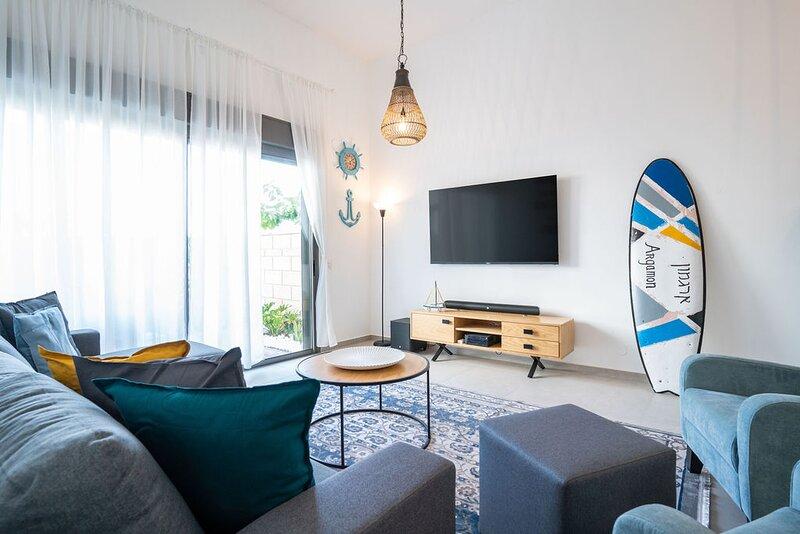 Argamon - Achziv Beach Garden Apartment, vacation rental in Nahariya