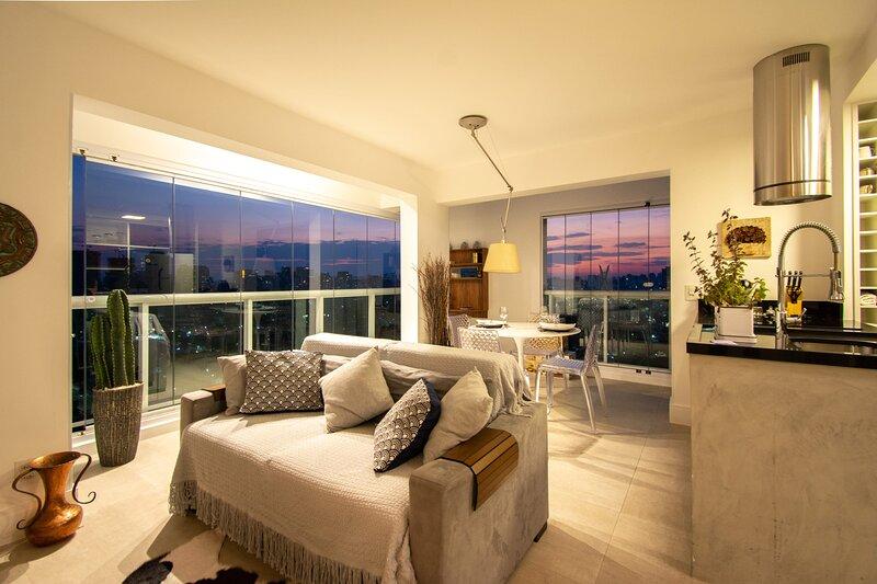 Beautiful Penthouse with Jacuzzi, Brooklin, holiday rental in Sao Bernardo Do Campo