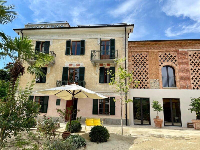 Villa Verdini - a truly special place in Piemonte, holiday rental in Monastero Bormida