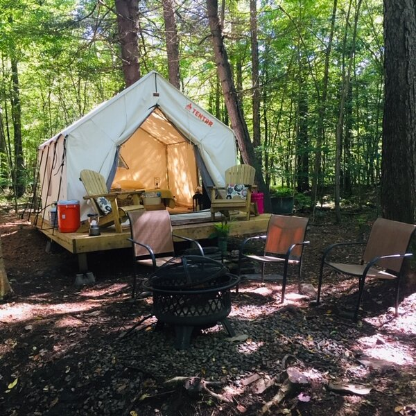 Tentrr Signature Site - Pine Spirit, holiday rental in Chenango Forks