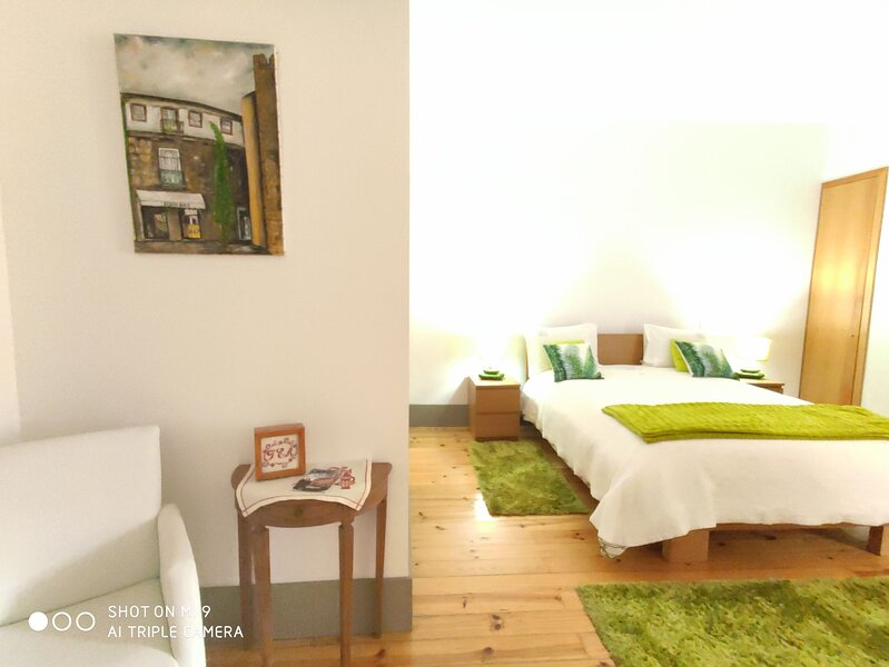 Nice apartment with balcony & Wifi, vacation rental in Felgueiras