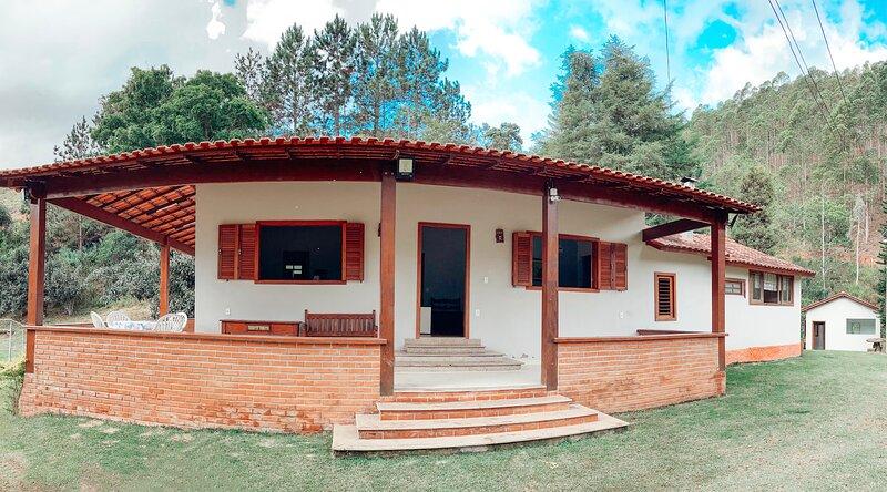 Casa de Campo de Pedra Azul, holiday rental in Vargem Alta