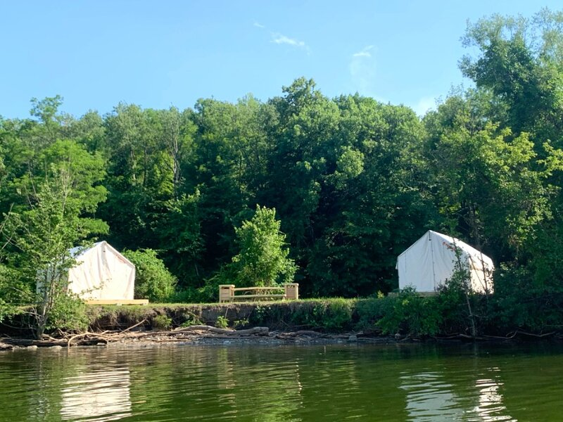 Tentrr State Park Site - NY Canals - Yankee Hill Getaway Site A - Double Camp, aluguéis de temporada em Mayfield