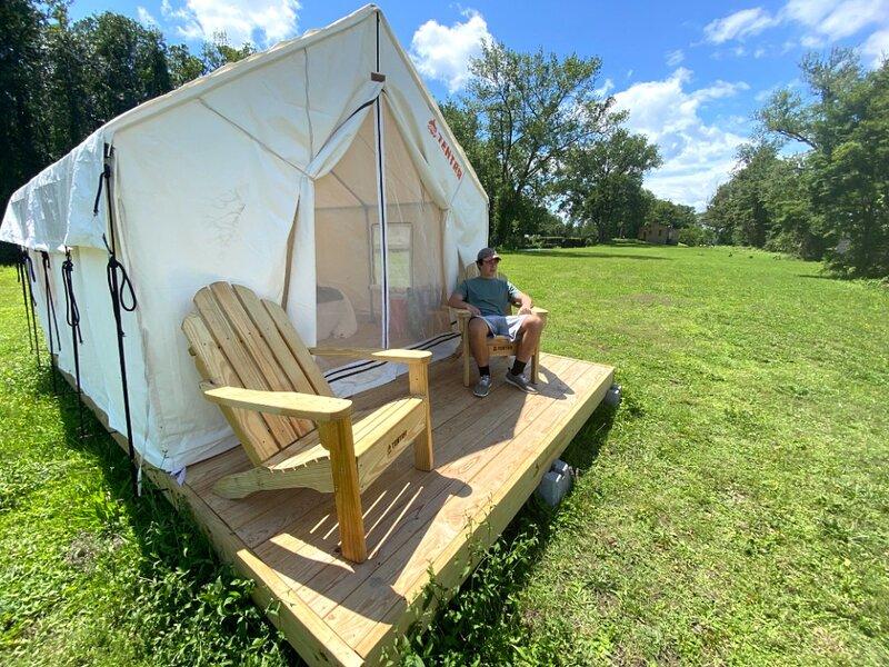 Tentrr State Park Site - NY Canals - Yankee Hill Getaway Site C - Single Camp, aluguéis de temporada em Mayfield