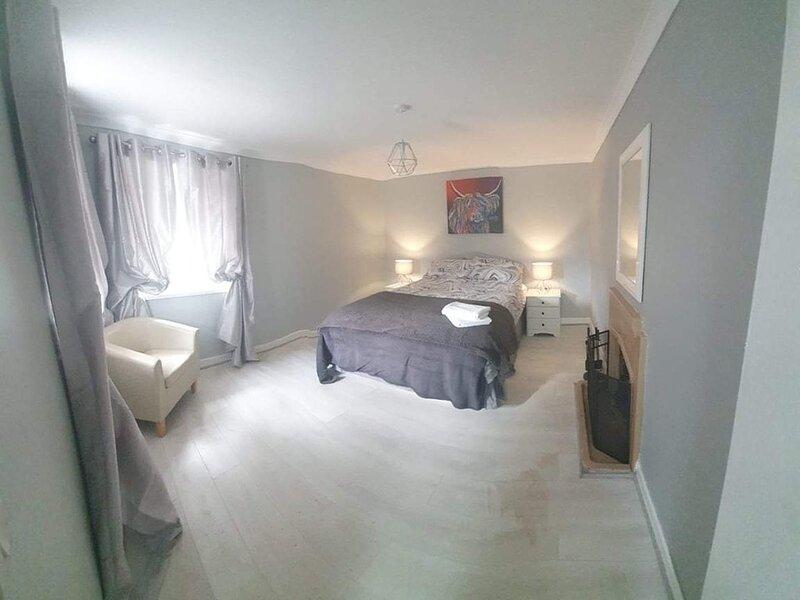 Modern, cosy Cottage in Newton Stewart, Scotland, holiday rental in Bladnoch