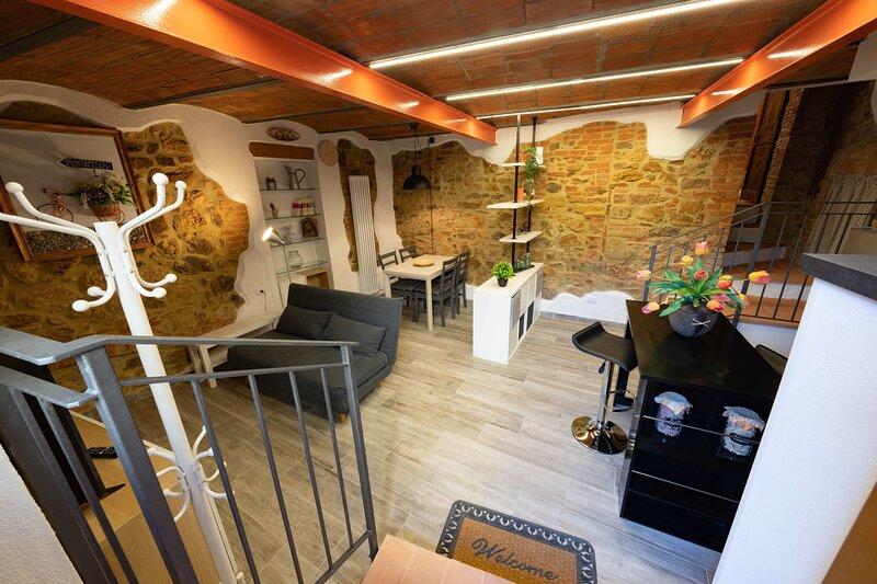 LE LOGGE CASA VACANZE - App.to ARANCIO, aluguéis de temporada em Montepescali