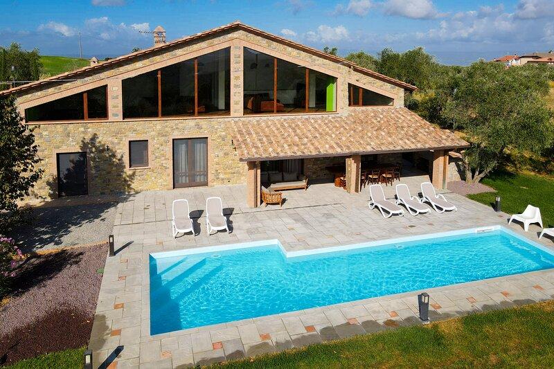 Villa Il Girasole, holiday rental in Sala
