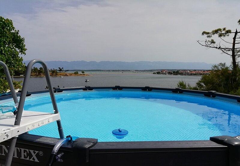 Ljilja - 10m from the sea with parking: A3(2+2) - Nin, holiday rental in Nin