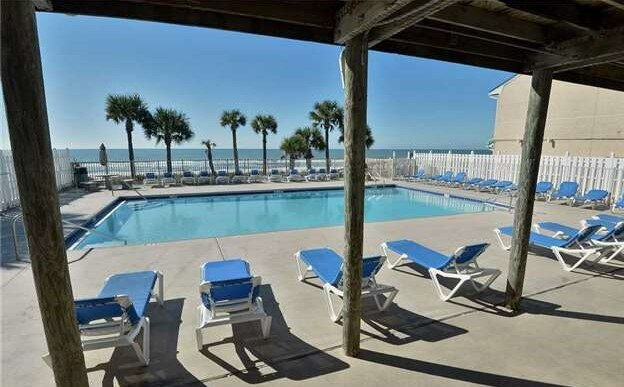 Take a break from the waves at our  Gulf Front Pool.