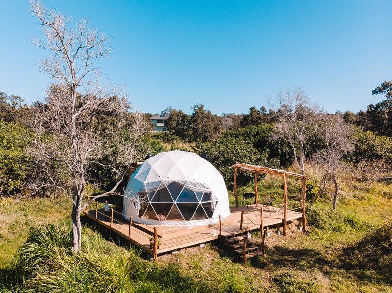Southernmost Hawaii Glamping Dome, holiday rental in Pahala