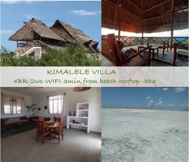 Kimalele Villa is a 4 bedroom house for rent in Nungwi, Zanzibar., vacation rental in Nungwi