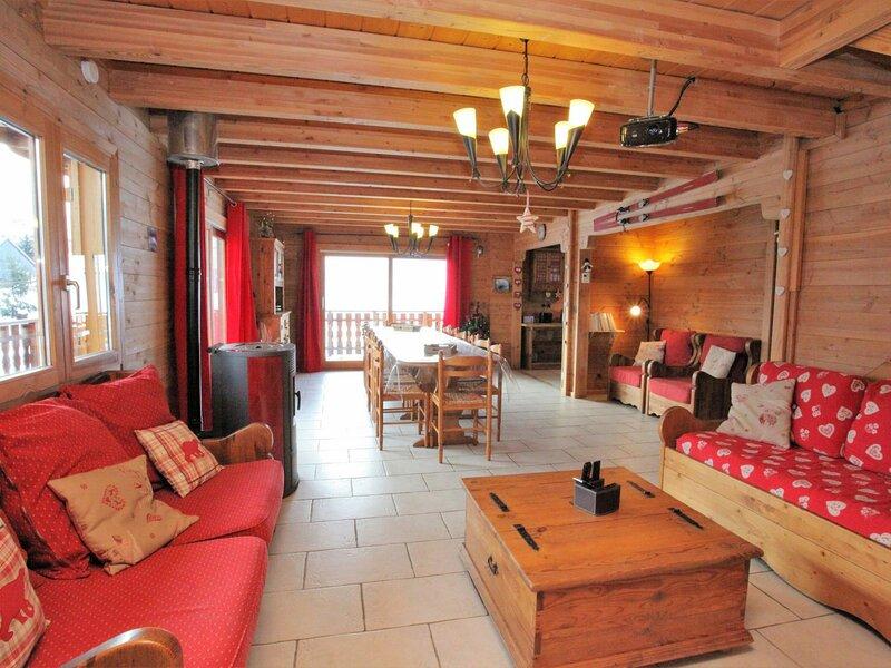 15 pers. 150 m²  étage Sud, vakantiewoning in Saint-Julien-Mont-Denis