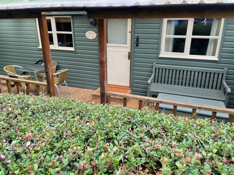 Gower Peninsula - Three Cliffs Bay - Timber Chalet / Cottage, casa vacanza a Swansea County