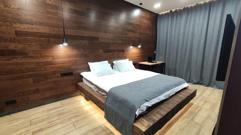 Apartment for 4guests with super king size bed, aluguéis de temporada em Kaliningrad Oblast