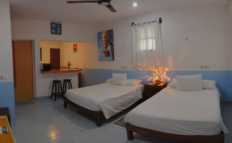 La Casa del Angel - Studio for 4 (Room 2), alquiler de vacaciones en Yucatán