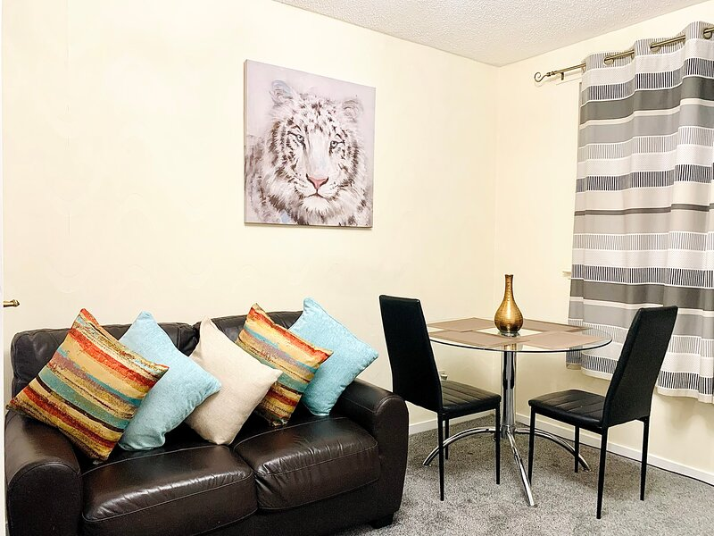 Kayleigh's Impeccable 1-Bed Apart Aberdeen city, holiday rental in Blackburn
