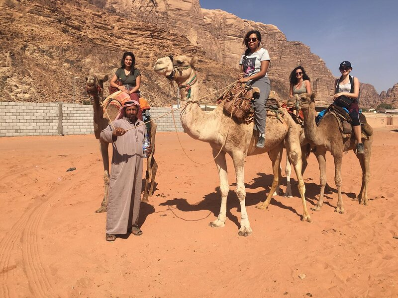 Wadi Rum Shining Star Full Day Jeep Tour + 1h Camel Ride, holiday rental in Al Aqabah Governorate