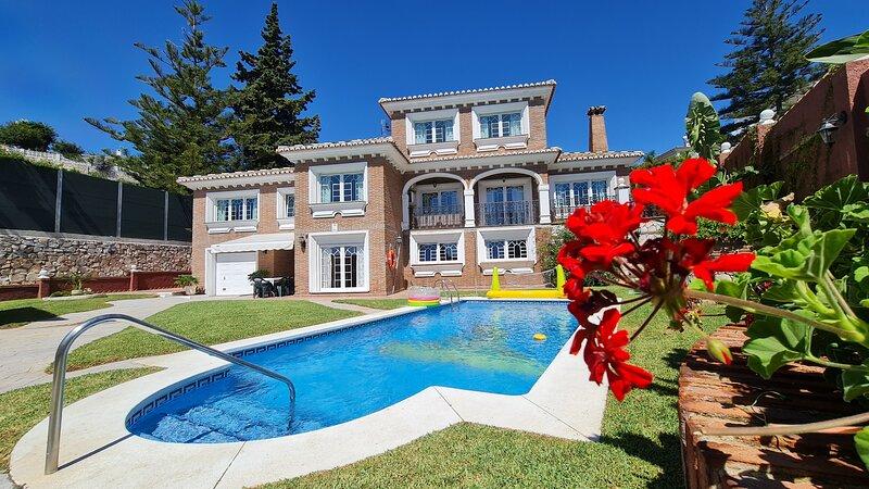 Villa en Torremuelle, Benalmadena - Costa del Sol, alquiler de vacaciones en Benalmádena