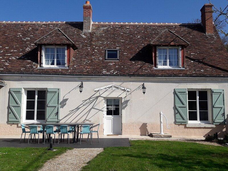 La Longère du Lavoir, gîte en Touraine, au coeur des Châteaux de la Loire, alquiler vacacional en La Croix-en-Touraine