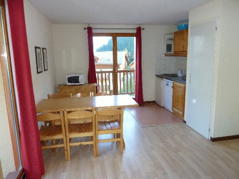 Appartement 3 pièces 4/6 personnes 36 m², holiday rental in Modane