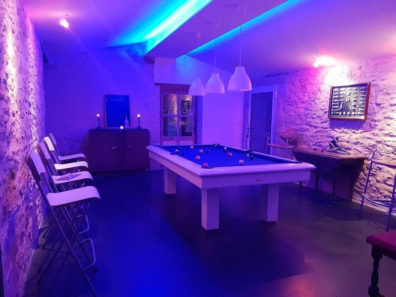 Villa Marcel  a 25 mn de Boreaux Spa Sauna Salle de Billard  Piscine ping-pong, holiday rental in Loupiac