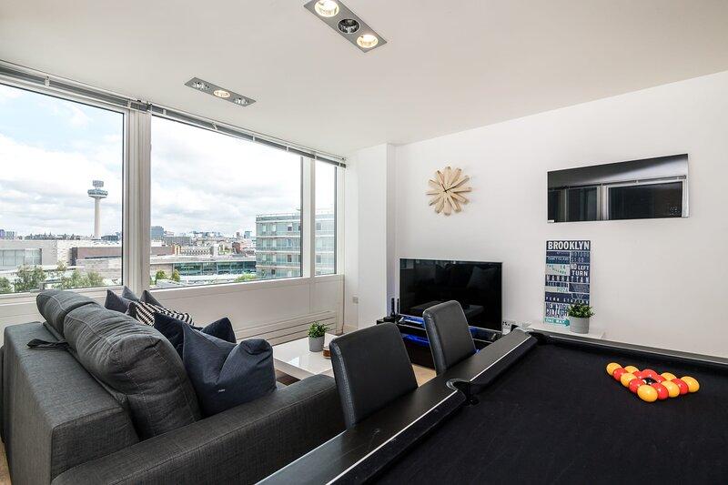 Great Views, City Centre, 2Bed!, casa vacanza a Wallasey
