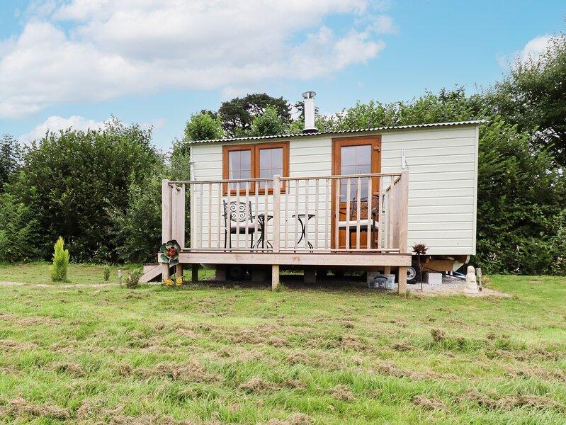 Little Barn Shepherds Hut, Upton Cross, holiday rental in Upton Cross