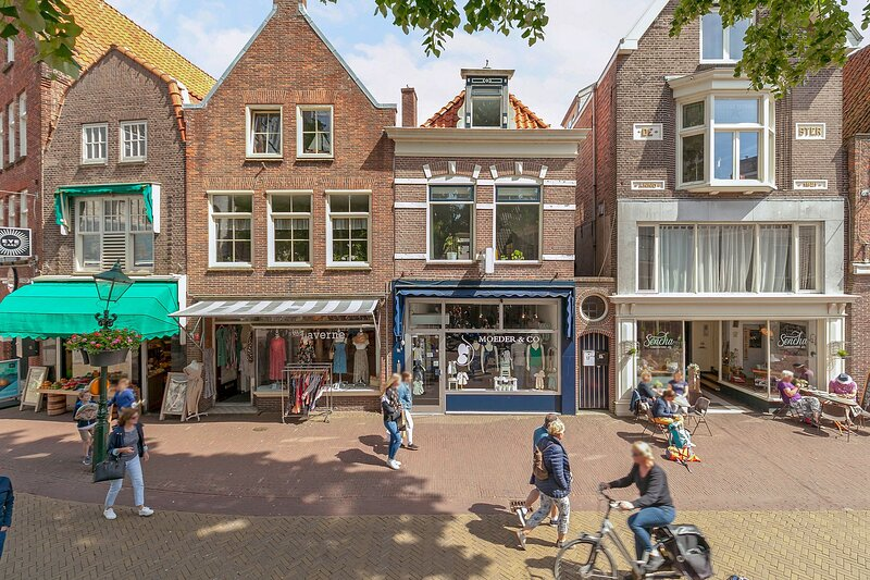 Luxury City Apartment 'Koorstraat' Alkmaar City Centre, aluguéis de temporada em Hensbroek