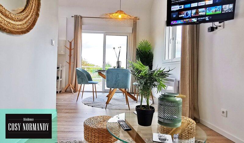 CosyNormandy 04★Nature★Giverny★Terrasse★Parking★Calme★Vélos electriques, location de vacances à Mousseaux-sur-Seine