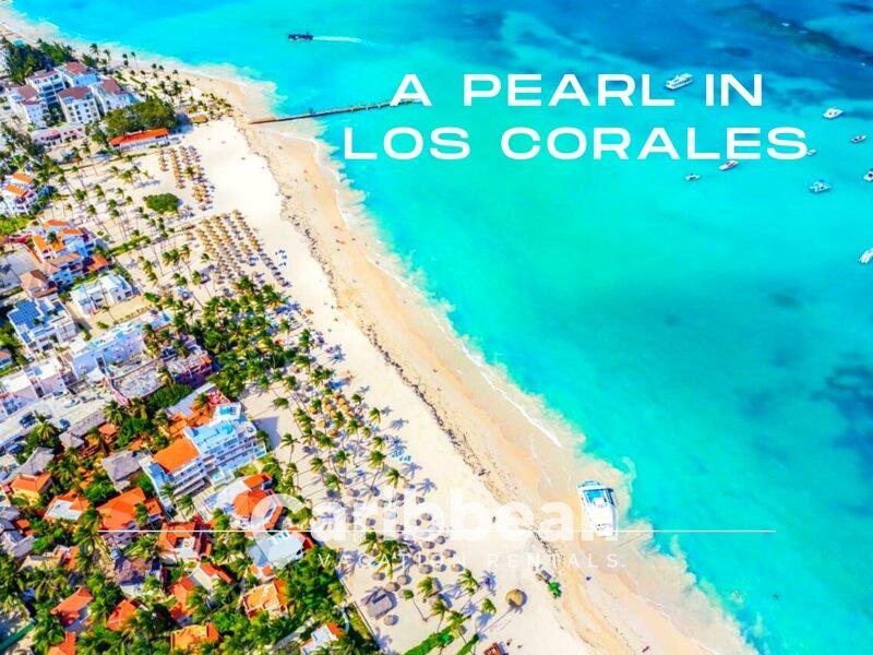 A Pearl In Los Corales Playa Bavaro Punta Cana – semesterbostad i El Cortecito