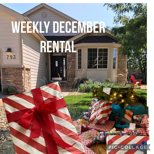 Weekly Holiday Rental in December, casa vacanza a Greeley
