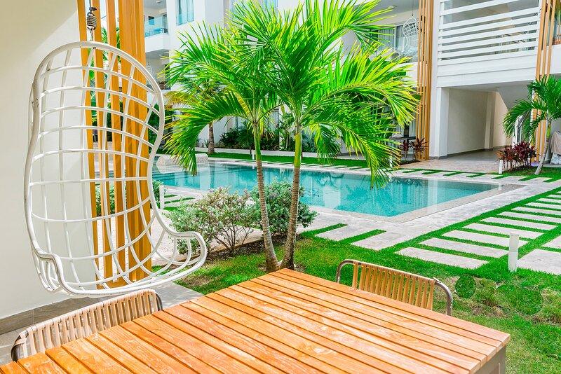 Best accommodation in Bavaro, 1 block from the beach – semesterbostad i El Cortecito