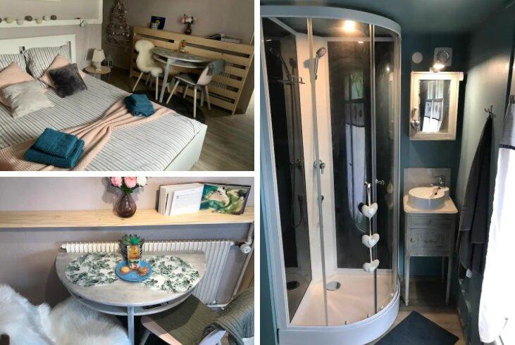 Studio de charme, gare à pied, holiday rental in La Boissiere-Ecole